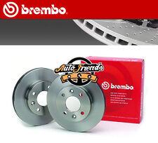 BREMBO Disco  freno OPEL AGILA (A) (H00) 1.0 12V 58 hp 43 kW 973 cc 09.2000 > 12