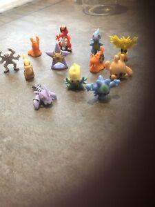 pokemon figures  X 12