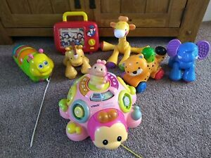 Bundle of Mixed Baby Toys vtech fisher price early learning centre