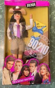 BEVERLY HILLS 90210 BRENDA WALSH BARBIE DOLL - BOX FACTORY SEALED, BOX DAMAGED