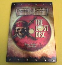 Pirates of the Caribbean The Lost Disc Bonus Feature Collection DVD NEW SEALED!