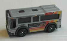 Matchbox City Bus MBX C.B.T. 801 grau ÖPNV Mattel Omnibus Autobus grey gris