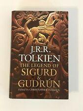 The Legend of Sigurd and Gudrun by J. R. R. Tolkien (Hardback, 2009)
