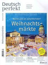 Deutsch perfekt - Heft Dezember 12/2013: Weihnachtsmärkte +++ wie neu +++