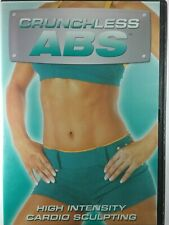 CRUNCHLESS ABS (DVD 2008) HIGH INTENSITY CARDIO SCULPTING