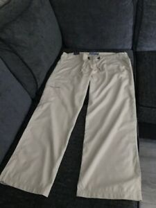 DENIM CO - TAN COLOURED CARGO TROUSERS - SIZE 18 - NEW WITH TAG - £3.99
