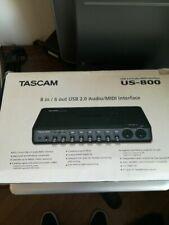 Tascam Us-800 Scheda Audio - Sound Card .Interface