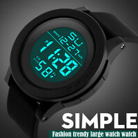 Fashion Men's LED Waterproof Digital Quartz Military Luxury Sport Date Watches