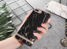Luxury Marble Gold Bar Protertive Hard Cover Phone Case for iphone 6 6s 7 plus