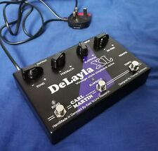 Carl Martin DeLayla XL Tape Delay Echo Simulator Guitar Synth Effects Boxed
