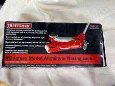 Craftsman Mini Miniature Aluminum Racing Floor Jack Model