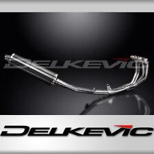 "Honda CBR600 F4i Complete 4-1 Exhaust 18"" Carbon Oval Muffler 01 02 03 04 05 06"