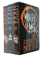 Patrick Ness 3 Book Chaos Walking Trilogy Science Fiction Horror Teen Adult New