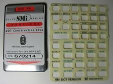 SMI DOT V6 Construction Five Card Version 6 Overlay & Manual for the HP 48GX