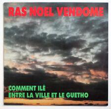 NM RAS NOEL VENDOME Comment ilé REGGAE FROM LA REUNION ISLAND french private LP