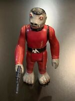 Vintage Snaggletooth Star Wars Action Figure 1978 Hong Kong - COMPLETE
