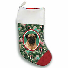 Bull Mastiff Christmas Stocking