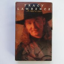 Tracy Lawrence Is That A Tear (Cassette)