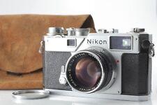[Excellent+++] Nikon S3 35mm Rangefinder Camera w/5cm 50mm F/1.4 Lens from Japan