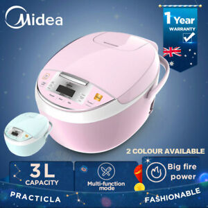 Midea 3L Multi Function Smart Kitchen Electric Rice Cooker 605W 5.5 cup