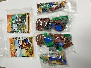 NEW LEGO Castle Forest Ambush 70400 x2 LOT w/ Instructions No box No Minifigures