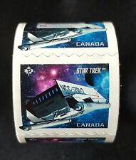 CANADA 2017 STAR TREK YEAR 2 - COIL OF 50 STAMPS