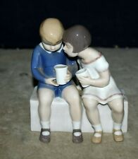 Bing Grondahl Unfair Treatment Figurine #2175 Royal Copenhagen Porcelain Denmark