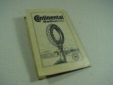 Continental Straßenkarte für Rad- und Kraftfahrer 13 GÜSTROW um 1930