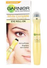 2x Garnier White Brightening Eye Roll-on For Dark Circles Puffiness Under Eyes
