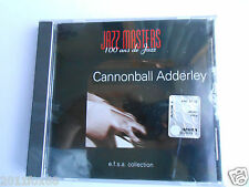 cd jazz blues soul jazz masters 100 ans de jazz cannonball adderley Raro ##cd's
