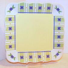 Pfaltzgraff SUMMER BREEZE Square Appetizer or Luncheon Plate...L@@K