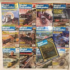 1999  MODEL RAILROADER Magazine Complete Year 12 issues + 1   1979