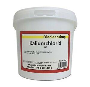 Kaliumchlorid E508 in Pharmaqualität 1kg