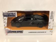 2017 Lamborghini Aventador Sv Primer Noir Jada 99326 Echelle 1:3 2