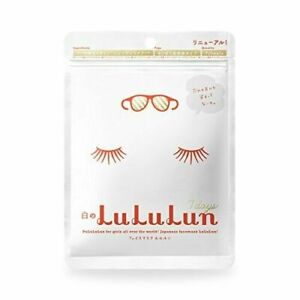 NEW face mask white LULULUN 7 pieces refreshing clarity type