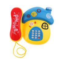Mobile Mushroom Telephone Music Learning for Child Toddler Baby Kids Toys