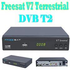 Freesat V7 Terrestrial DVB T/T2 Receiver digital HD Full 1080P Decoder AC-3 USB