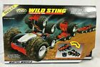 Vtg Mattel Tyco RC Wild Sting 8 Wheel Drive Vehicle + Flex Pak + Charger NIOP