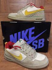 RARE🔥 Nike Zoom Air Paul Rodriguez Rasta Hemp Mushroom Ochre Gum 9 310802-271