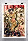Nala Snake Charmer Vintage Sideshow Poster Giclee Print on Canvas or Paper