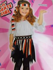 Lil' Pirate Girl Baby, Toddler Halloween Costume 2T-4T #5103