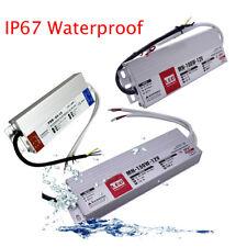 LED Driver Power Supply Transformer IP67 Ulta Slim UK Switch - AC 240V to DC 12V