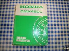 BB 68MM200 Manual De Taller Honda CMX 450 C H ediz. 1987
