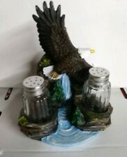 Eagle salt and pepper shaker new in the box
