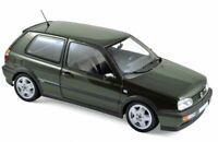 NOREV 188437 VW GOLF VR6 diecast model road car green metallic 1996 1:18th scale