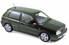 NOREV 188437 VW GOLF VR6 diecast model road car green metallic 1996 1:18th scale