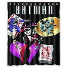 Brand New Batman Joker And Harley Quinn Shower Curtain 60 x 72 Inch