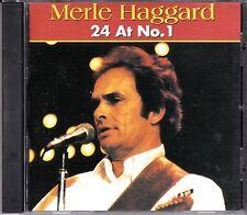 MERLE HAGGARD - 24 AT NO. 1 - CD - NEW -