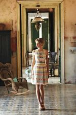 Anthropologie $268 Plenty by Tracy Reese Sunglow Stripes Dress Size 4P