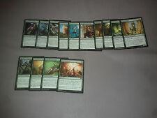 MTG Magic Origines lot de 14 cartes différentes - vert VF